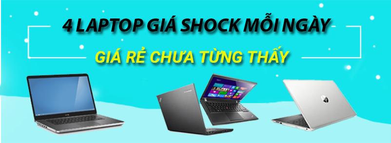 4 laptop giá shock mỗi ngày