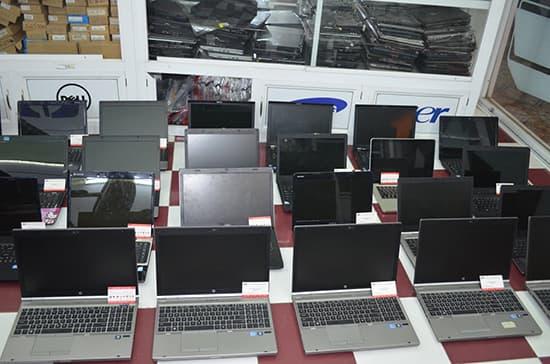 Nhiều dòng laptop cũ giá rẻ đa dạng, từ bình dân đến cao cấp, dễ dàng chọn lựa