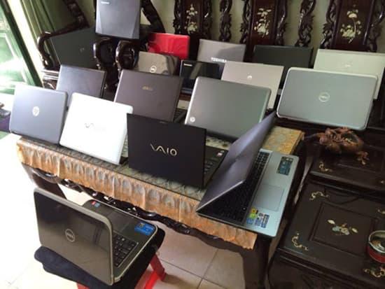 Siêu thị hàng cũ cung cấp đa dạng các dòng máy từ bình dân đến cao cấp